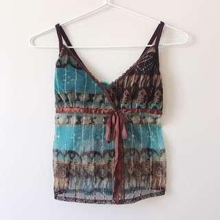 *as NEW* Beaded Cami top size XS