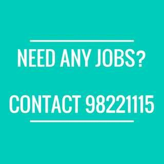 $8 Telemarketer (1 month) NEEDED !!! COME WHATSAPP 98221115 FOR EASY JOB !!!