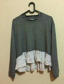 Oversized colorbox blouse