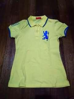Giordano Yellow Polo Shirt