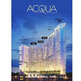 Own a 3BR Condominium in Mandaluyong - Just a bridge away from Makati Central Business District First of its kind, Century Properties Acqua - Country's First Residential Eden (Tropical Rainforest Infused Design)