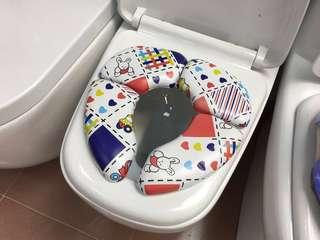 YB-308 cushion foldable kids toilet seat
