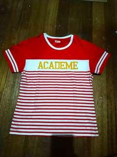 Red Stripes Tee