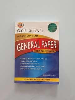 A-level GP Essay Book