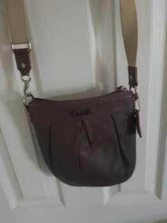 Coach leather cross body.
