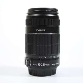 Excellent Condition Canon 55-250mm IS lens(180sgd)
