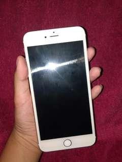 Iphone 6 plus 16gb gold  semi fu