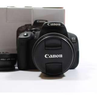 (3000 SC)Mint Condition Canon 700D(600sgd)