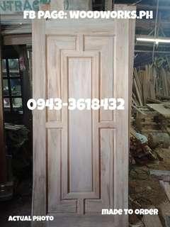 Wooden KD Solid Panel Door