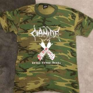 Vintage 90s band t shirt - cianide