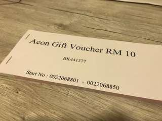 RM500 AEON Voucher