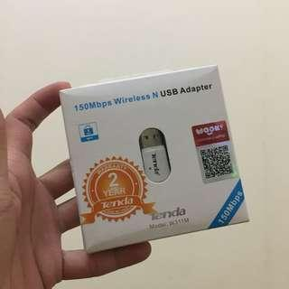 wifi receiver 150Mbps wireless N usb adapter