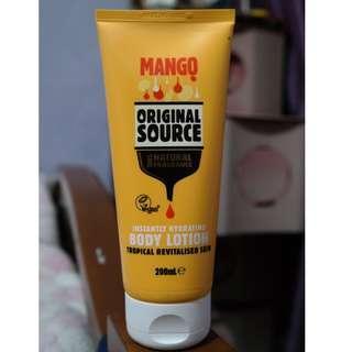Original Source Body Lotion: Mango