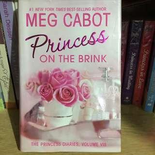 Princess Diaries On The Brink #8 by Meg Cabot
