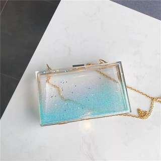 [PO] Light Blue Sling Bag