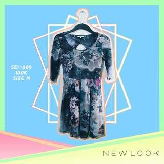 New Look Floral Flare Dress
