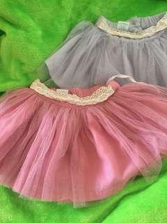 Tutu Skirts (Pink and Blue)