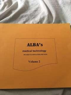 Alba's Medical Technology Reviewer