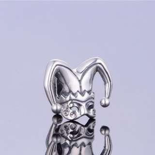 Code S128 - Clown Hat 100% 925 Sterling Silver Charm compatible with Pandora