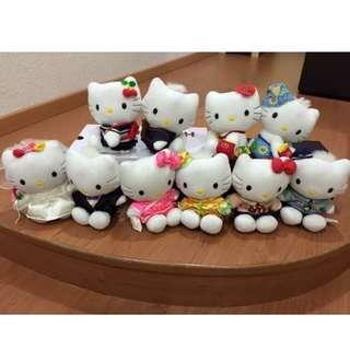 💯 [Hello Kitty] 10 pcs of Hello Kitty & Daniel Collection