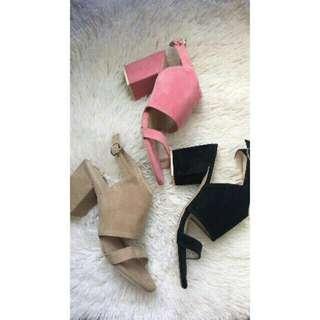 Liliw trendy block heels
