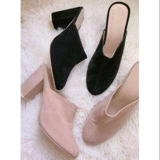Liliw closed block heels