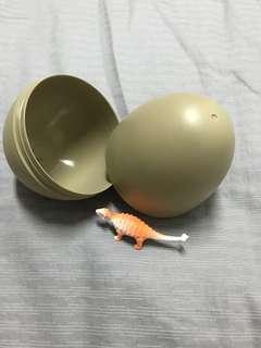 🚚 恐龍蛋收納盒(內附一隻小恐龍)