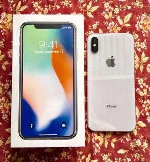 IphoneX 64gb silver
