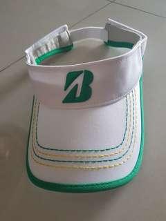 Bridgestone golf visor cap