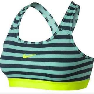 🚚 <全新> Nike Pro Classic Stripe Gym Bra 運動內衣 XS