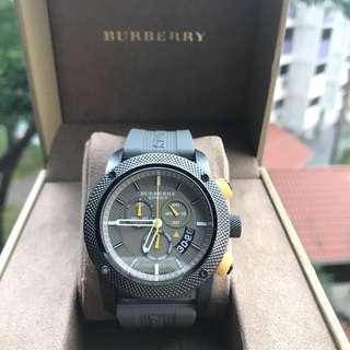 🚚 Burberry men's sportive Watch