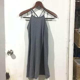Dress 7 - Blue Halter Dress