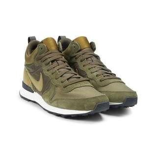 Nike Internationalist Mid Green size UK5.5