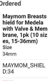 Maymom 34mm funnel