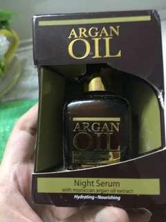 Australian Moroccan Argan Oil Night Repairing Serum