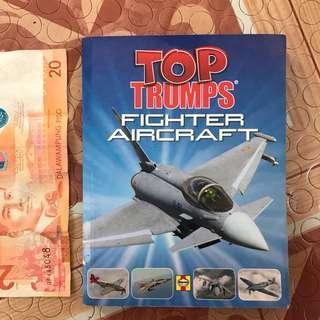 top trumps - fighter aircraft minibook