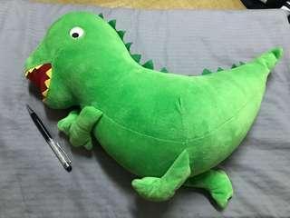 🚚 綠色恐龍玩偶
