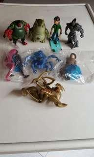 🚚 Ben 10 figurines
