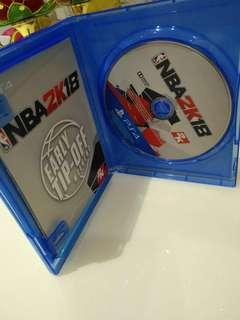 Ps4 ||| NBA 2k18, GTA V DVD