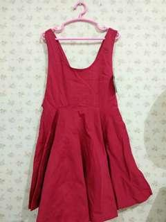 Dress Merah Wanita