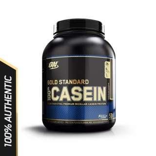 Casein Protein Powder : Optimum Nutrition 100% Casein Protein (4lbs)