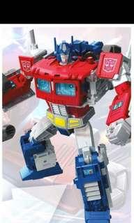 🚚 Transformers potp rodimus prime orange and black and Optimus prime