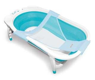 Karibu foldable baby bath tub with net