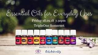 Essential Oils for Everyday Uses