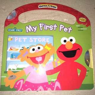 Sesame Street My First Pet, Carry A Tune with Audio CD