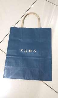 Zara paperbag (large, medium, small)