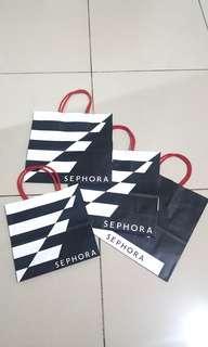 Sephora paper bag (medium & small)