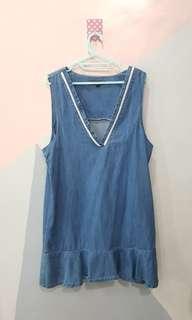 H Connect Denim Outwear Dress