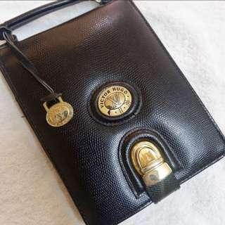 Black messenger type Purse Bag