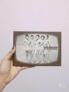Wondergirls Nobody CD
